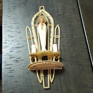 Celluloid religious wall decor